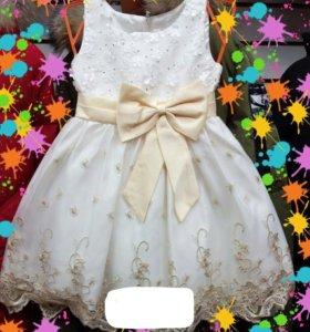 Платья нарядные 98-128