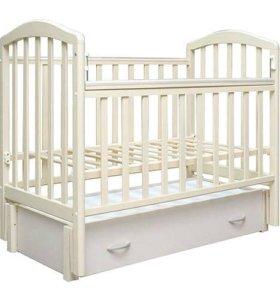 Детская кроватка-маятник «Алита 6»