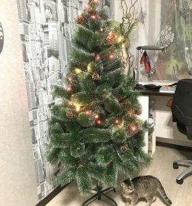 Новогодние  ёлки с экспресс доставкой