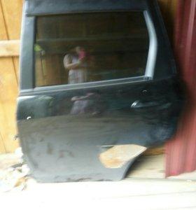 Дверь задняя левая Фит 2008