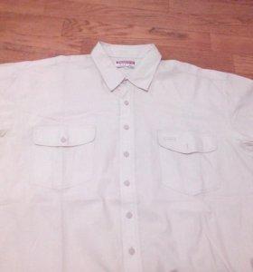 Рубашка мужская, ворот 44, 56-58 размер