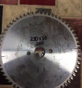 Пильный диск KONIG