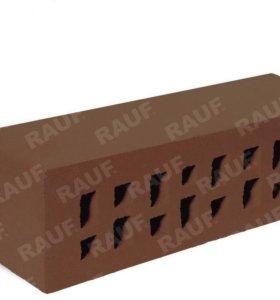 Клинкерный фасадный кирпич коричневый мюнхен