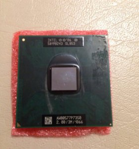 Intel core 2 duo mobile P7350