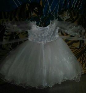 Бальное платье на 3-4