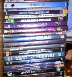 Диски сериалы и фильмы
