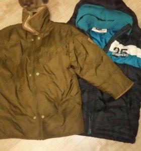 Куртки для мальчика размер 140 см. по 150р.