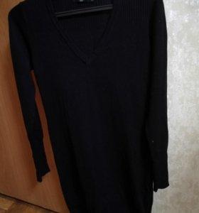 Платье черное для беременной