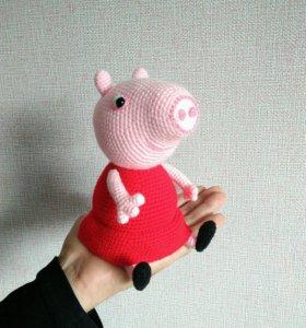 Связанная свинка пепа