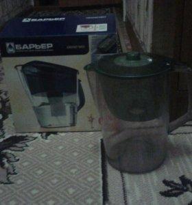 Кувшин для очищения воды Барьер.