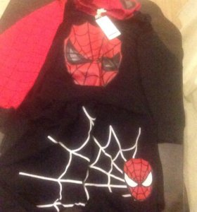 Новый костюм человека паука