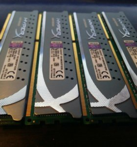 Оперативка 16GB HyperX Genesis KHA1600c9d3p1k2/8g