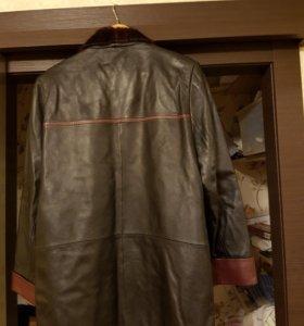 Итальянская кожаная мужская куртка