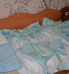 Комплект в кроватку для мальчика