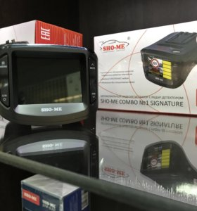 Видеорегистратор радар детектор Sho-me combo 1