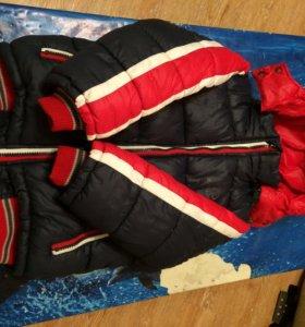 Зимняя куртка для мальчика 7-8 лет