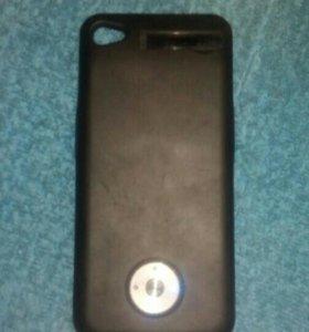 Чехол батарея для iPhone 4s.