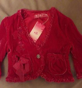 Жакет, пиджак, блузка новая Born