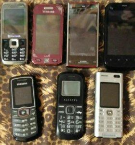 Телефоны продам все сразу.