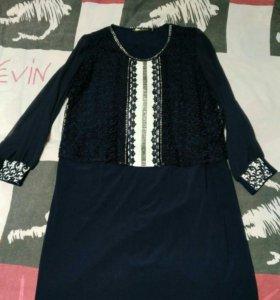 Платье 56 новое