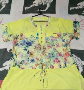 Блуза 56-58