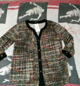Блуза новая 58-60
