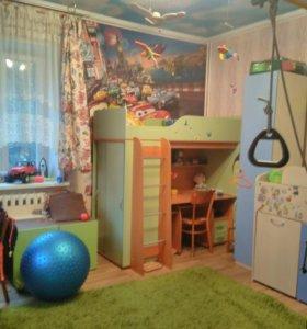 Квартира, 3 комнаты, 77.5 м²
