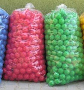 Шарики для сухого бассейна 6,7,8 см