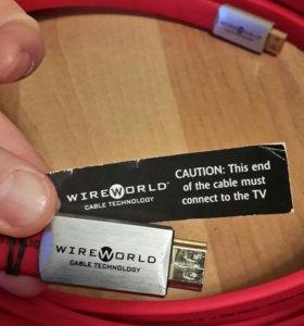 Кабель HDMI-HDMI WireWorld Starlight 7 12 м серебр