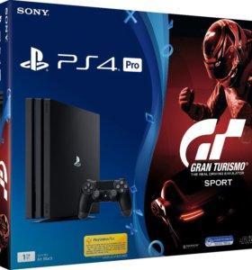 Sony PlayStation 4 Pro 1 Tt +игра GT Sport Edition