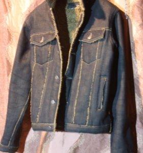 Джинсовая куртка на меху Psycho Cowboy Италия