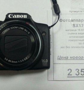 Фотоаппарат Canon sx170is