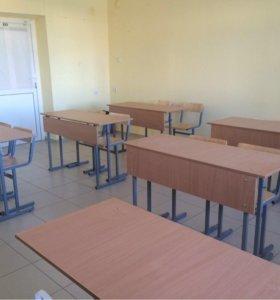 Парта/стол ученическая(ий) плюс стулья