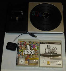 DJ Hero Turntable KIT для PS3