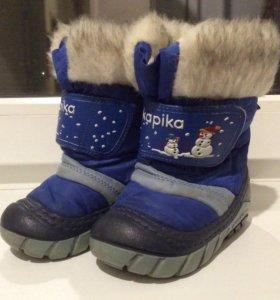 Зимние сапоги детские