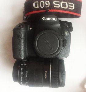 Canon 60D + Canon 18-135mm