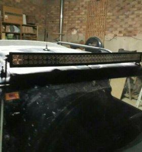 светодиодная балка фара люстра птф нива уаз led