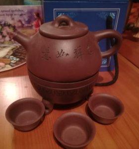 Чайник из глины из Китая