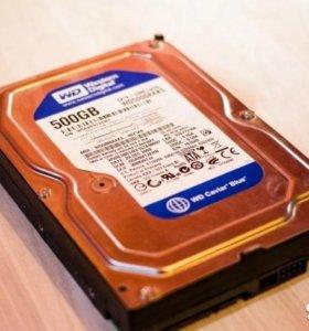 """HDD для пк 3,5"""" - 500 Гб"""
