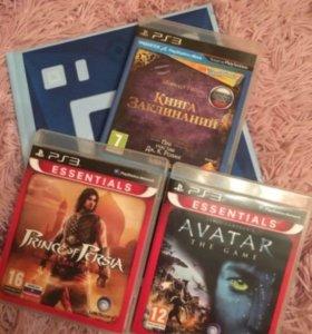 Игры для приставки PlayStation 3 цена за 3 шт.