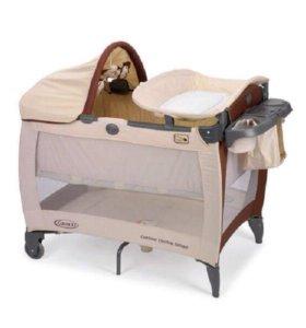 Манеж кровать 2в1 (GRACO )Contour Electra Deluxe