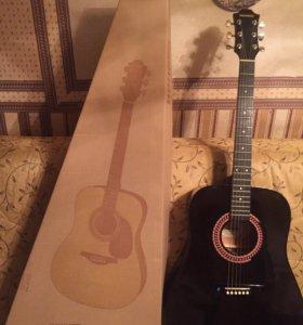 Акустическая гитара Hohner HW220-TBK.