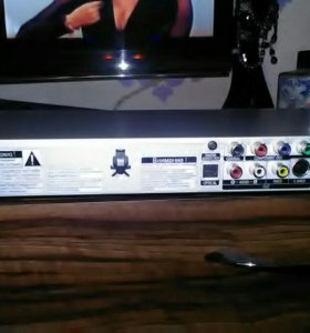 DvD проигрыватель 2 входа подмикрофоны