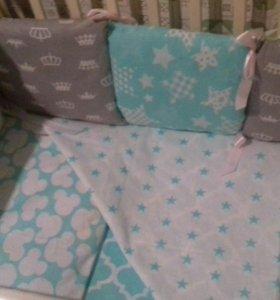 Бортики-подушки и кпб