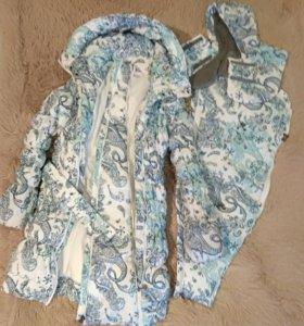 Куртка 3в1 зимняя для беременных и слингоношения