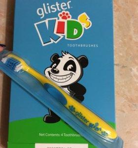 Детские зубные щётки Glister