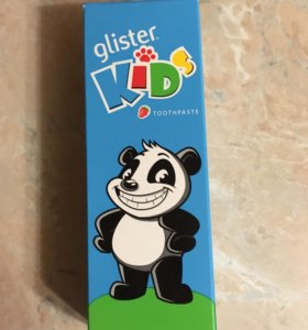 Детская зубная паста Glister