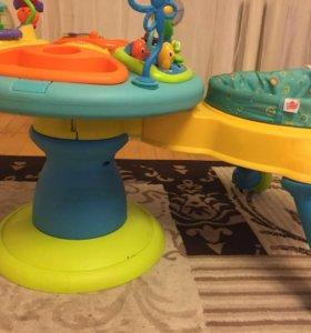 Развивающий стол/ходунки Bright stars зоопарк