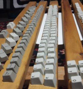 IBM Model-M Клавиши, кнопки, колпачки, корпуса