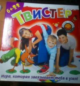 Детская игра твистер